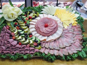 Pumpernickles Catering Tray of Deli Cuts